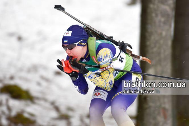 Тернопільські біатлоністи виступили на чемпіонаті Європи