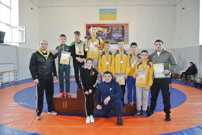 Тернопільські борці стали призерами чемпіонату України у Західній зоні