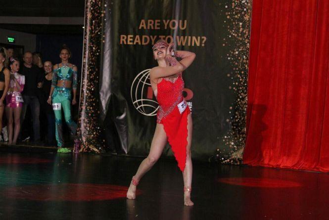 Софія Мельничук - багаторазова чемпіонка України з сучасних танців