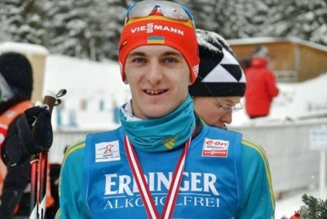 Тернополянин Дмитро Підручний став чемпіоном світу з біатлону