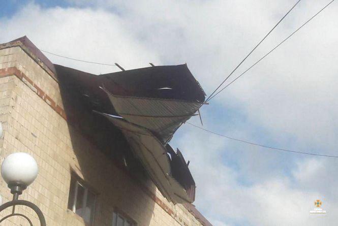 Буревій наробив лиха у Тернополі та області (оновлено)