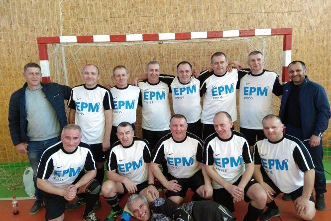 У Тернополі визначили міні-футбольного чемпіона серед ветеранів