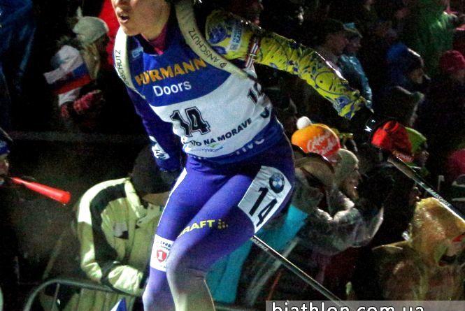 Анастасія Меркушина — у десятці на чемпіонаті світу з біатлону