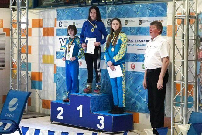Тернопільська школярка стала дворазовою чемпіонкою України з плавання