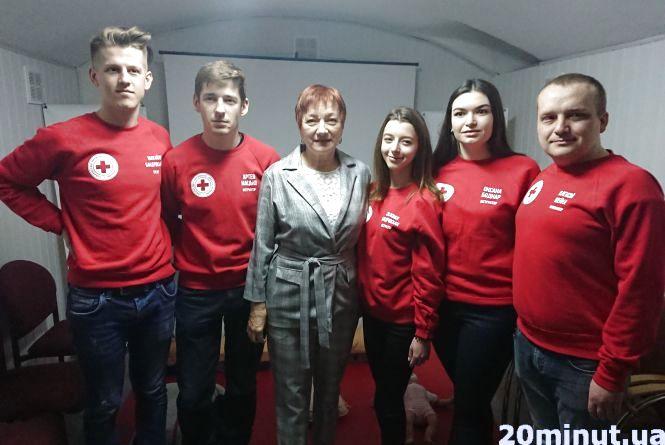"""Тернопільський Червоний Хрест відкрив """"Школу першої допомоги"""""""