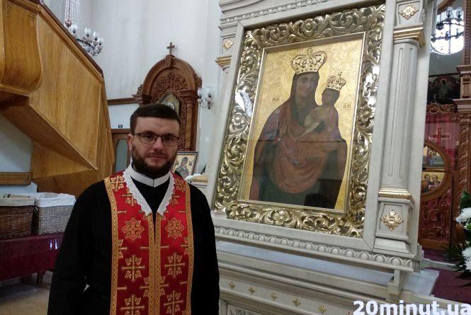 У церкву на Острозького привезли ікону Матері Божої Зарваницької, яка коронована у Ватикані