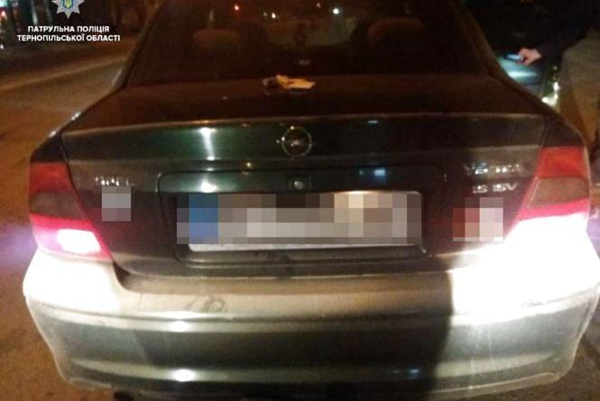 """У Тернополі вночі спіймали 19-річного водій """"під кайфом"""""""