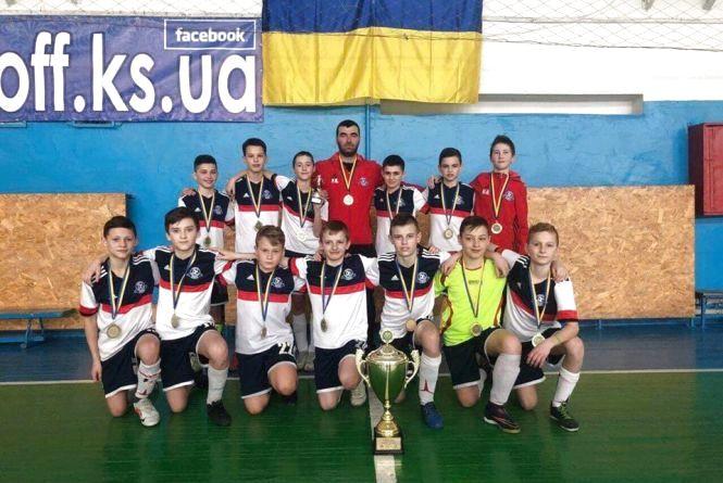 Юнаки з Тернополя стали чемпіонами України з футзалу