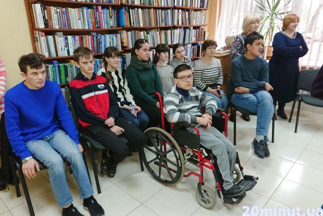 У Тернополі для дітей з інвалідністю бібліотеки реалізовують проект «Можливості – обмежені, здібності – безмежні»