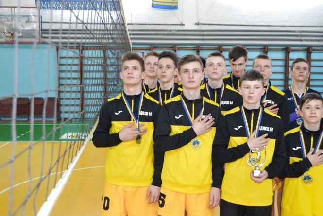Фото дня: тернопільські волейболісти - переможці Чемпіонату України