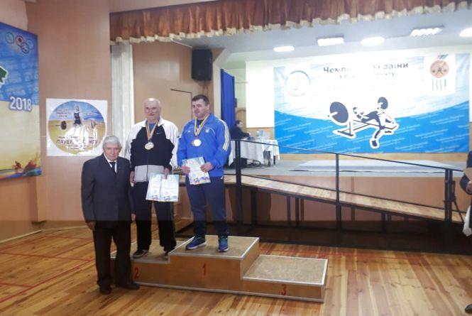 Тернополяни завоювали дві медалі на чемпіонаті України з пауерліфтингу