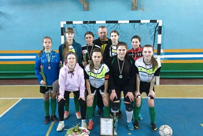 Тернопільські дівчата – шості на чемпіонаті України з футзалу