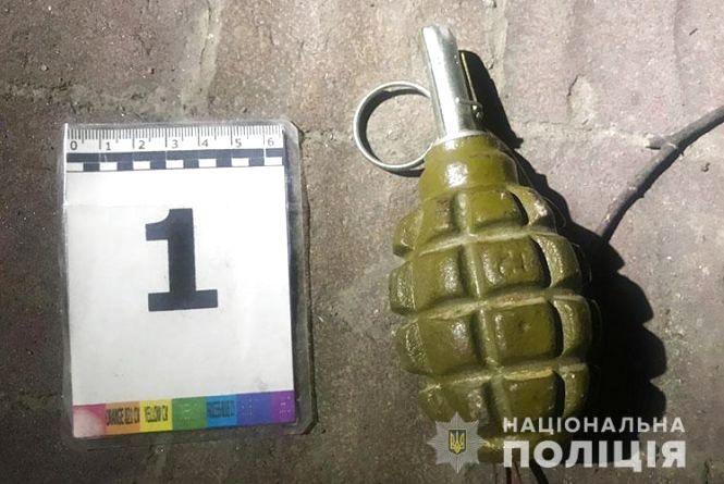 У Тернополі біля дитячого майданчика знайшли гранату