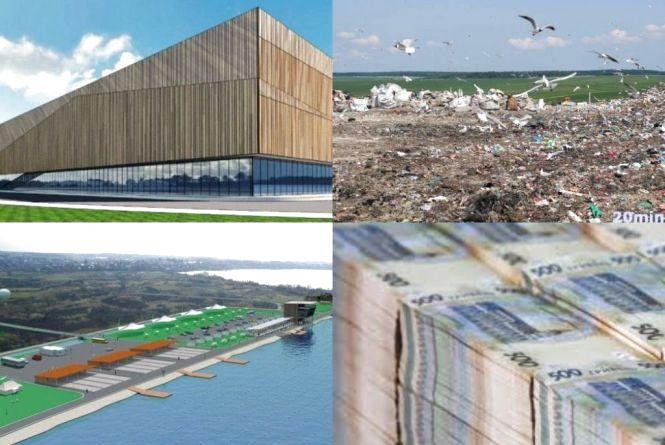 """Скільки коштів виділять на """"Водну арену"""", """"Палац  спорту"""" та Малашівецьке сміттєзвалище"""