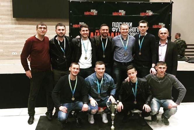 У Тернополі нагородили лауреатів футзального сезону