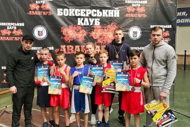 Тернопільські боксери здобули десять медалей на відкритому турнірі