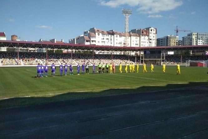 У Тернополі відбувся унікальний футбольний матч за участі збірної України