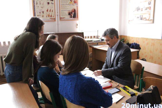 Школярки разом із відомим аніматором створюють мультфільм про Тернопіль