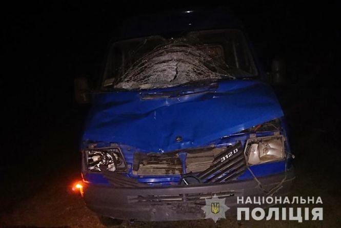 На Тернопільщині водій збив на смерть пішохода, який стояв посеред дороги