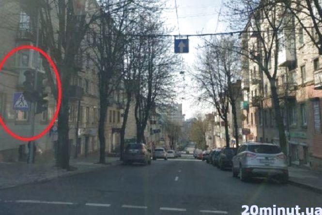 На перехресті Замкова-Руська не працюють світлофори. Частина Центру без світла