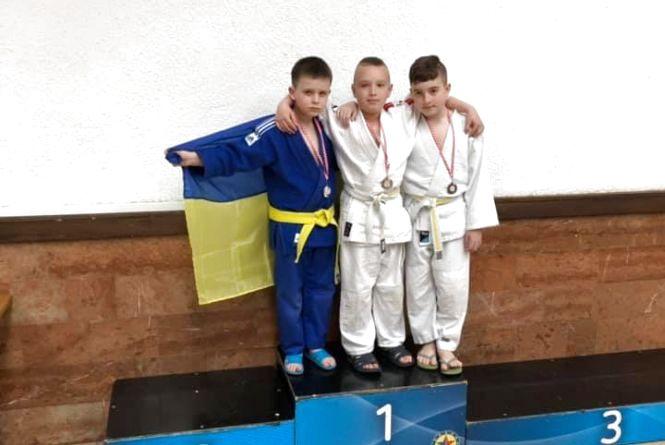 Юні дзюдоїсти з Тернополя вибороли дві медалі у Хорватії