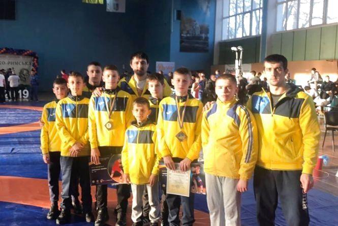 Тернопільські борці здобули дві медалі на чемпіонаті України