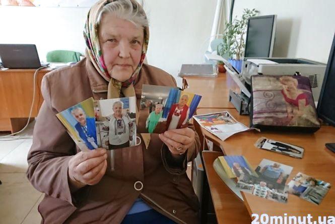 Тернополянка на виборах влаштувала показ вишиванок