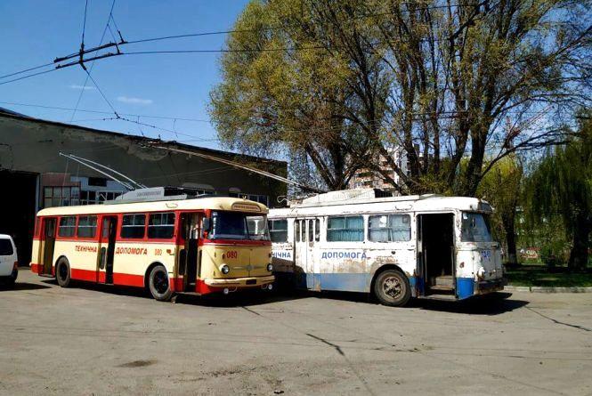 У Тернополі унікальний тролейбус став новою технічною допомогою