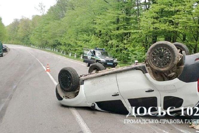 На Тернопільщині зіткнулися три автомобілі