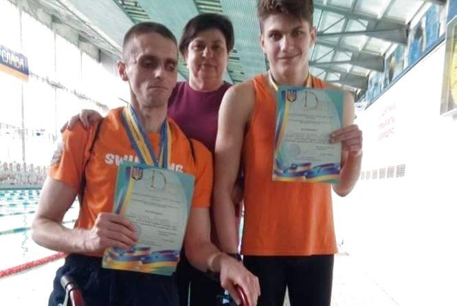 Тернополяни стали призерами Кубка України з плавання
