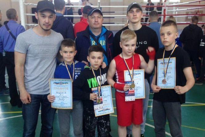 Тернопільські боксери здобули п'ять медалей на Міжнародному турнірі