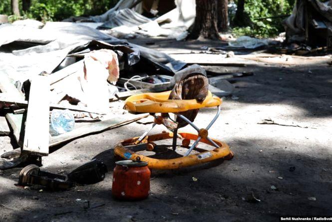 На Тернопільщині роми з дитиною обібрали жінку