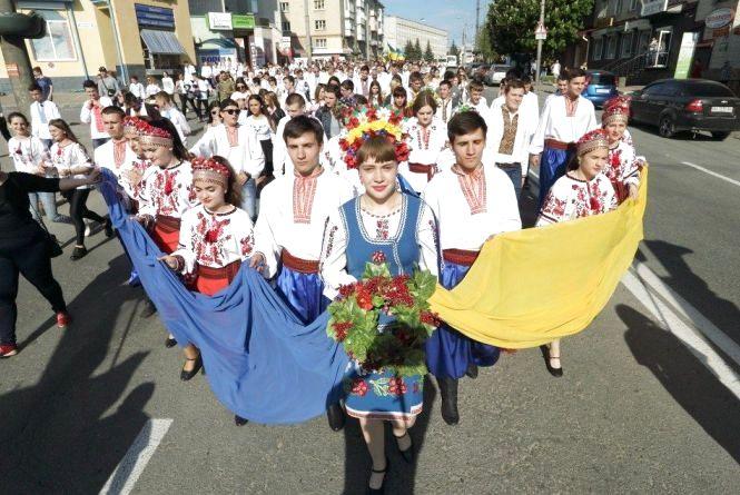 У Тернополі відбудеться урочиста хода у вишиванках