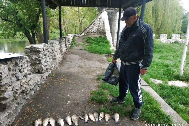 Десять порушень правил рибальства на водоймах Тернополя виявили муніципальні інспектори