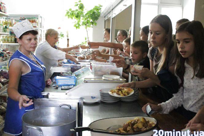 Тернопільські школярі у їдальнях будуть розраховуватись без готівки