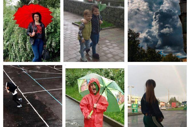 """ТОП-10 """"дощових"""" фото тернополян з соцмережі Instagram"""