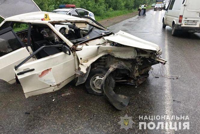 Аварія на Гусятинщині: троє постраждалих у лікарні