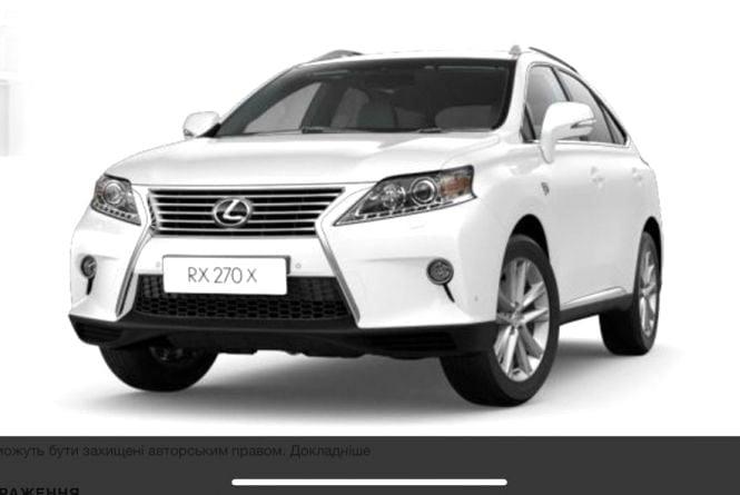 Вночі на Симоненка викрали білий джип Lexus RX. Просять допомогти знайти авто