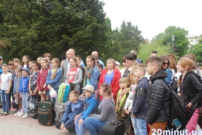 Фото дня: діти з Тернопільщини поїхали на відпочинок в Одесу