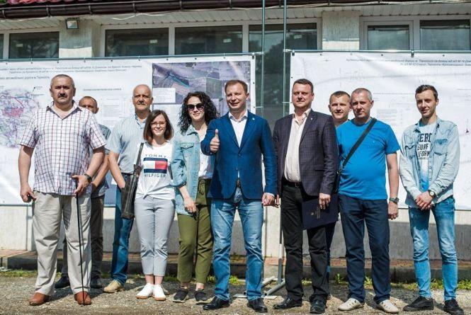Розпочинається будівництво нової об'їзної на східній околиці Тернополя