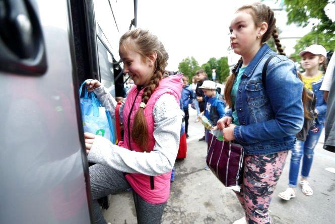 У Тернополі до кінця літа оздоровлять понад 2500 дітей пільгових категорій