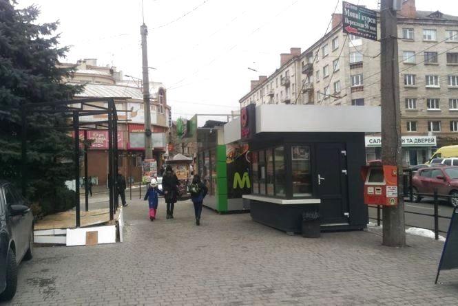 МАФи за схемами: у Тернополі планують демонтувати аж 67 кіосків