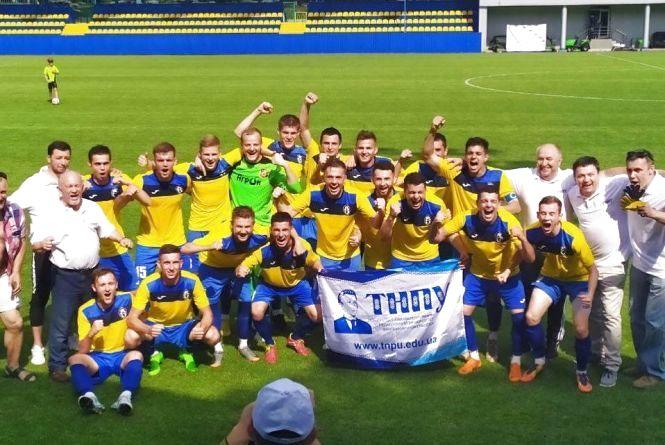 Студенти педуніверситету виграли чемпіонат України з футболу