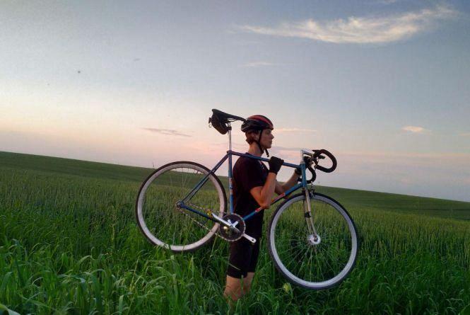 «Все одно краще, ніж на картоплі»: тернополянин проїхав 440 кілометрів на велосипеді за вихідні
