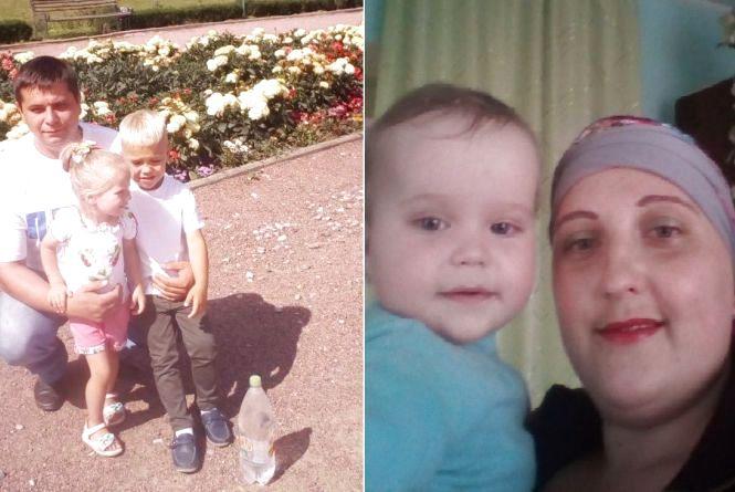 Батько в тюрмі, чоловік Олег загинув, а Марійка бореться з онкологією. Допоможіть мамі трьох малесеньких діток