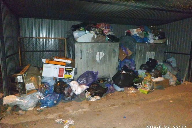 Гори сміття і сморід під вікнами: тернополяни скаржаться, що не мають, чим дихати
