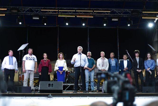 Петро Порошенко представив у Тернополі кандидатів від партії «Європейська солідарність» (прес-служби)
