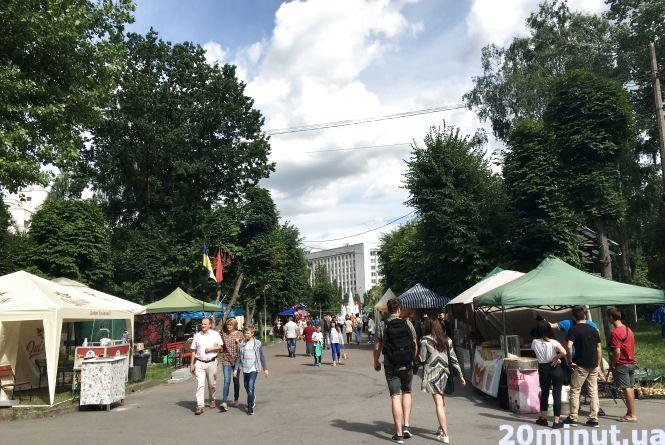 «Їжа, як для імператорів»: у парку Шевченка гастрономічний фестиваль