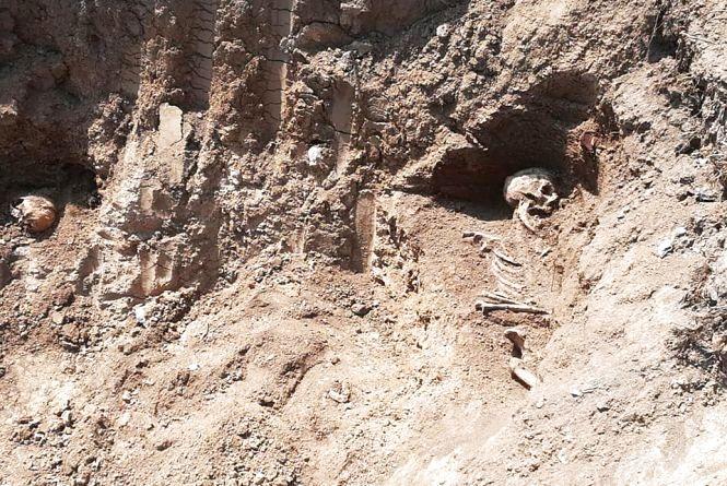 У Чорткові під час будівництва меморіалу знайшли рештки 14 людей івивезли їх на смітник
