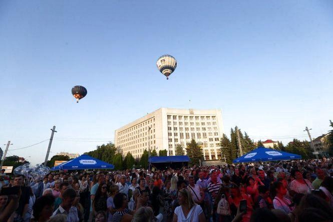 Тернопіль три дні розважався на фестивалі